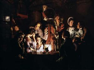 An_Experiment_on_a_Bird_in_an_Air_Pump_by_Joseph_Wright_of_Derby,_REVERSED